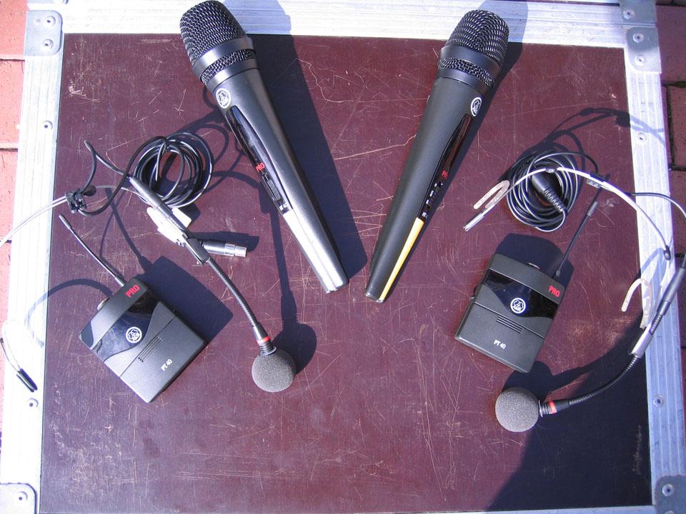 AKG Funk Mikrofontechnik